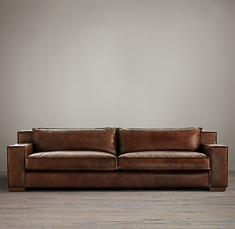 Leather Sleeper Sofas - Dilshan Drapers